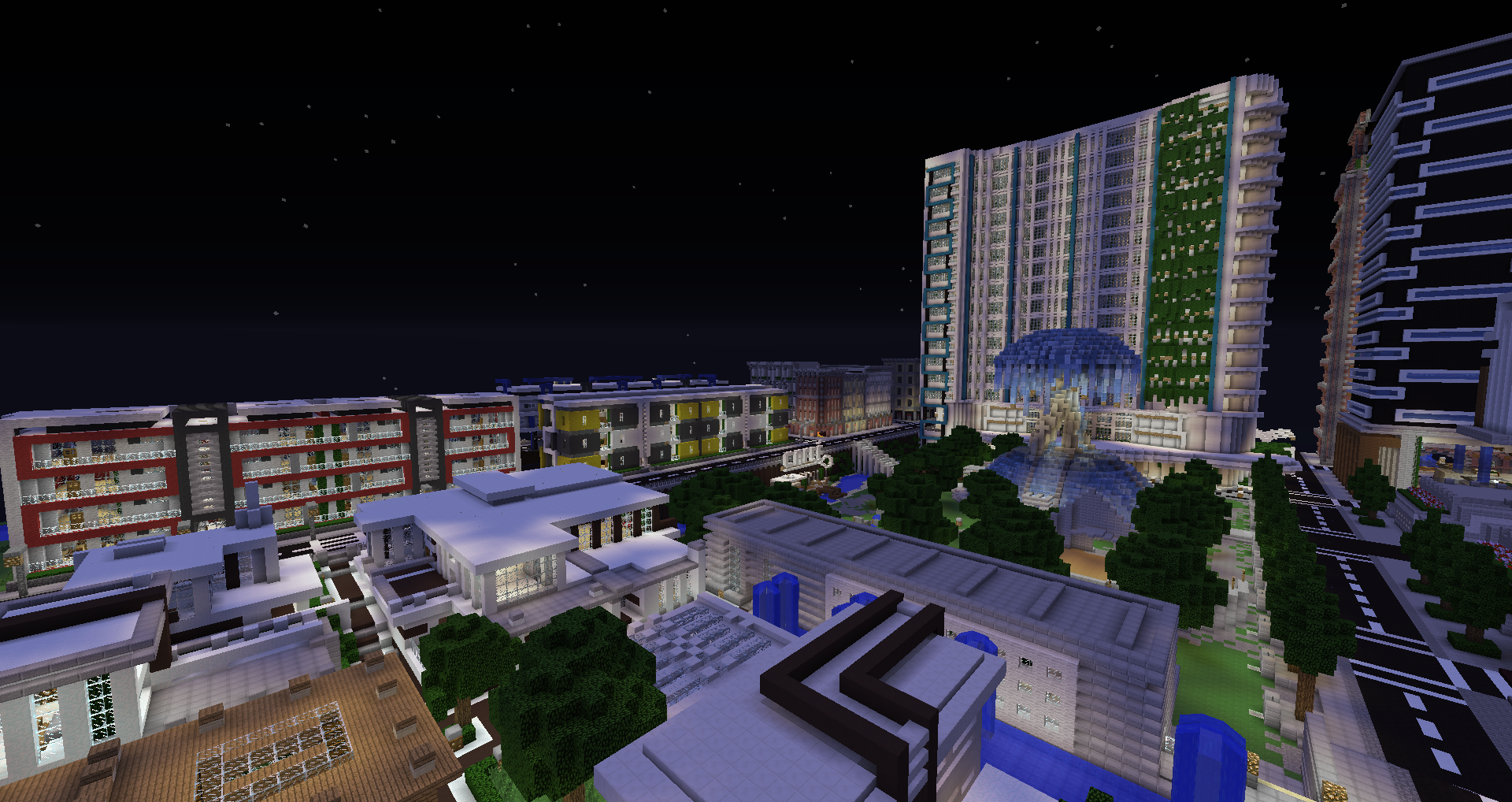 Minecraft Central City Map The Flash - Gambleh q